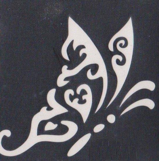 Szablon Do Tatuażu Brokatowego 224 6x6cm Tatuaż Akcesoria