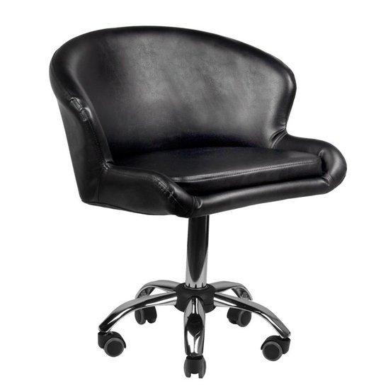 Krzesło Kosmetyczne Lady Czarne Meble Kosmetyczne